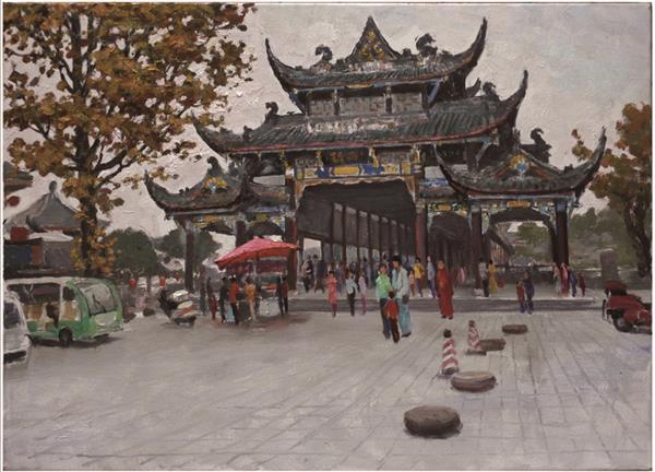 都江堰糸列:兰桥金秋